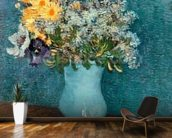 Vase of Flowers, 1887 (oil on canvas) wallpaper mural kitchen preview