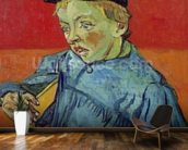 The Schoolboy, 1889-90 (oil on canvas) mural wallpaper kitchen preview