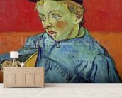 The Schoolboy, 1889-90 (oil on canvas) mural wallpaper living room preview