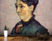 Portrait of Madame Jeanne Lafuye Trabuc, 1889 (oil on canvas) wallpaper mural kitchen preview