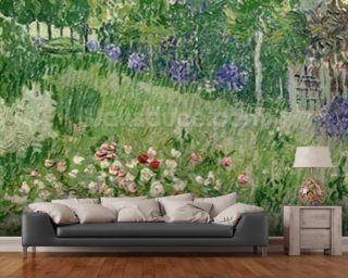 Daubignys garden, 1890 (oil on canvas) Wallpaper Wall Murals