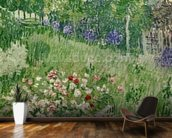 Daubignys garden, 1890 (oil on canvas) mural wallpaper kitchen preview