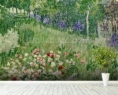 Daubignys garden, 1890 (oil on canvas) mural wallpaper in-room view