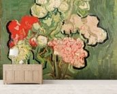 Bouquet of flowers, 1890 (oil on canvas) mural wallpaper living room preview