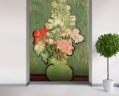 Bouquet of flowers, 1890 (oil on canvas) mural wallpaper in-room view