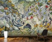 The ravine of the Peyroulets, 1889 (oil on canvas) wallpaper mural kitchen preview