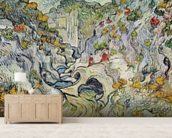 The ravine of the Peyroulets, 1889 (oil on canvas) wallpaper mural living room preview