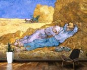 Noon, or The Siesta, after Millet, 1890 (oil on canvas) wall mural kitchen preview