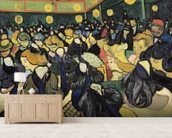 The Dance Hall at Arles, 1888 (oil on canvas) mural wallpaper living room preview