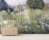 Mademoiselle Gachet in her garden at Auvers-sur-Oise, 1890 (oil on canvas) wall mural living room preview