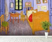 Van Goghs Bedroom at Arles, 1889 (oil on canvas) wall mural in-room view