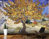 Mulberry Tree, 1889 (oil on canvas) wallpaper mural kitchen preview
