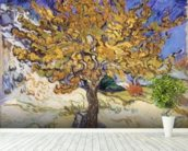 Mulberry Tree, 1889 (oil on canvas) wallpaper mural in-room view