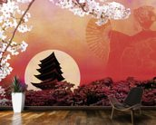Rising Sun wall mural kitchen preview