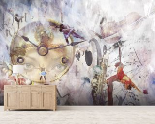 Tempo Wallpaper Mural Wall Murals Wallpaper