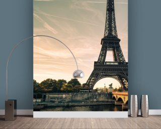 Eiffel Tower, France wallpaper mural