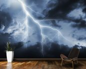 Lightning Bolt mural wallpaper kitchen preview