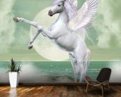 Unicorn wall mural kitchen preview