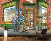The Corner Shop wall mural kitchen preview