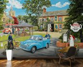 The Village Tea Rooms wall mural kitchen preview