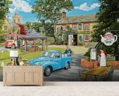 The Village Tea Rooms wall mural living room preview