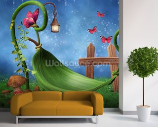 Magic Garden Wall Mural Wallpaper