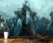 Cybernetics army wall mural kitchen preview