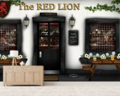 Village Pub wall mural living room preview