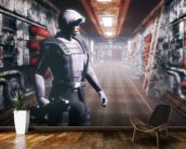 Space soldier wall mural kitchen preview