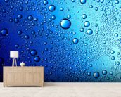 Drops on Glass wallpaper mural living room preview