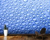 Water Drops mural wallpaper kitchen preview