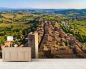 San Gimignano wall mural living room preview
