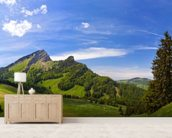 Mountain Pasture wall mural living room preview