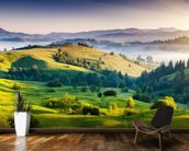 Mountains Landscape mural wallpaper kitchen preview