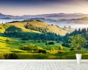 Mountains Landscape mural wallpaper in-room view