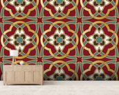 Arabic seamless pattern wallpaper mural living room preview