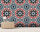 Islamic pattern mural wallpaper living room preview