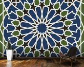 Arabesque seamless pattern mural wallpaper kitchen preview
