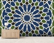 Arabesque seamless pattern mural wallpaper living room preview