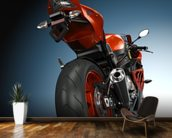 Motorbike wall mural kitchen preview