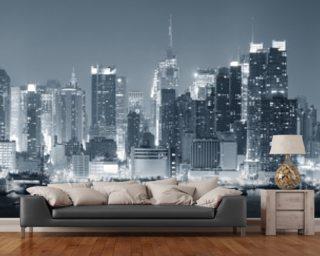 cityscape wallpaper mural  New York Wallpaper