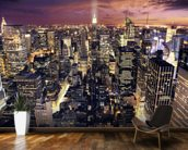 New York Skyscrapers wallpaper mural kitchen preview