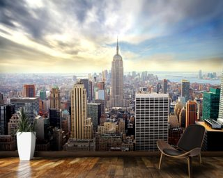 City Wallpaper Skyline Wall Murals Wallsauce USA