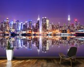 Manhattan Reflections wallpaper mural kitchen preview