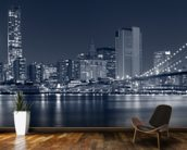 Manhattan at Night wallpaper mural kitchen preview