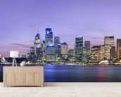 Sydney Skyline wall mural living room preview
