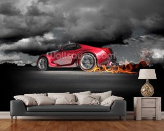 Car Wallpapers Wall Murals Wallsauce USA