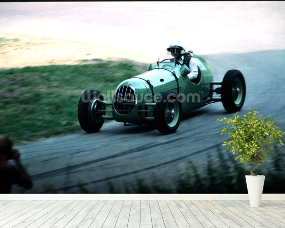 Classic Car Speed Trial Wallpaper Wall Mural Wallsauce USA