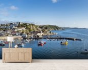 Mevagissey Fishing Village, Cornwall wall mural living room preview