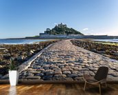 St Michaels Mount, Cornwall wallpaper mural kitchen preview